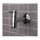 Modern Extravagance Single Cold Mop Pool Faucet - Silver