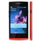 "HTM F5 Capacitive Touch Screen Android 2.3 Bar Phone w/ 4.0"" / Bluetooth / Wi-Fi - Red"