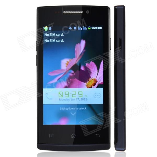 HTM F5 Capacitive Touch Screen Android 2.3 Bar Phone w/ 4.0
