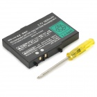 Portable PB-08 3.7V ''1600mAh'' Rechargeable Battery for NDS - Black
