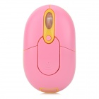 Promi MF-310 2.4GHz USB 2.0 Wireless Optical Mouse - Pink + Yellow