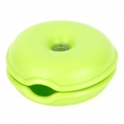 GEL140301 Convenient Handy Earphone / Cable / Wire Winder Organizer - Green