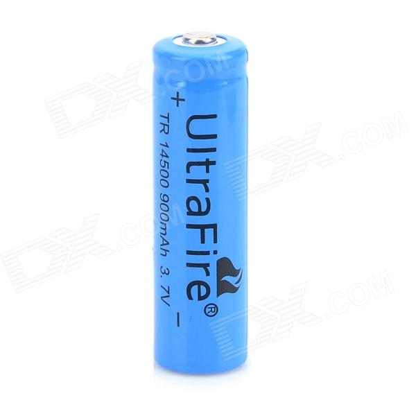 UltraFire MT31 3.7V 750mAh 14500 Li-ion Rechargeable Battery - Blue hot sale 2 4 6 8 10pcs unitek icr 3 7v 14500 battery 750mah aa rechargeable lithium ion li ion cell for led flashlight torch