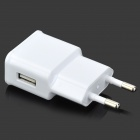 5V 2000mA EU Plug Power Adapter - White (100~240V)