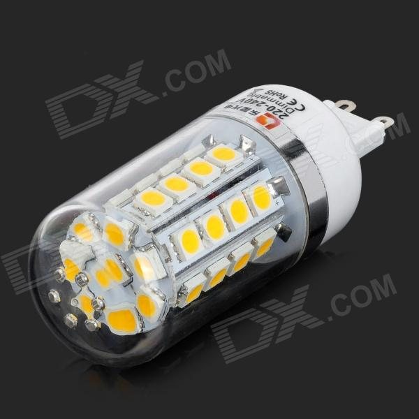 lexing LX-YMD-082 G9 4.5W 250lm 3500K 36-5050 SMD LED Warm White Light Lamp (AC 220~240V) lexing lx qp 20 e14 6w 470lm 3500k 15 5730 smd led warm white light dimmable lamp ac 220 240v