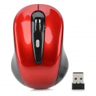 Promi MF-316 2.4GHz USB 2.0 Wireless Optical Mouse - Red (2 x AAA)