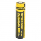 Nitecore NL188 3100mAh Rechargeable Li-ion 18650 Battery - Black + Yellow