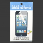 Protective Clear PVC Screen Protector Guard Film for HTC 700