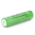 Bronte MT-008 3.7V 2600mAh 18650 Li-ion Rechargeable Battery - Green + Black