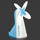 Cute Mini 2W 5V Windmill Style USB Powered Electric Fan - Blue