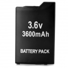 Portable GENCA-011 ''3600mAh'' 3.6V Rechargeable Battery for Sony PSP 2000 / 3000 - Black