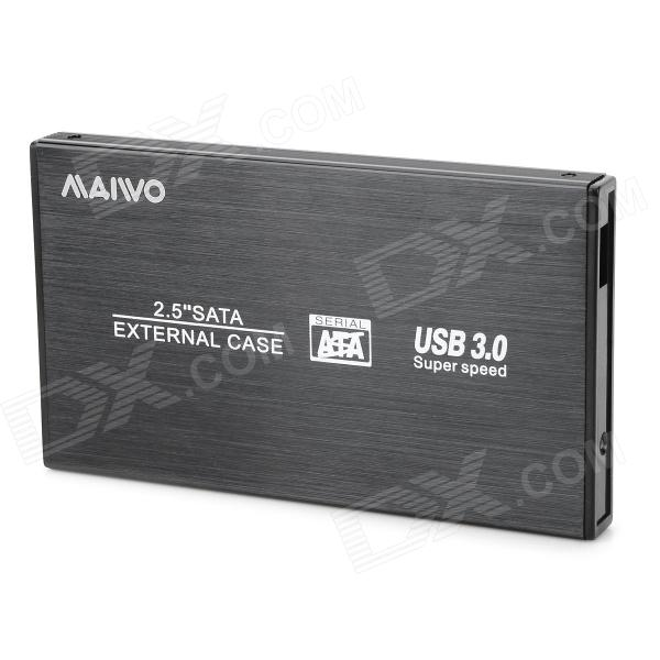 MAIWO K2501CU3S USB3.0 2.5 SATA HDD Enclosure - Black k s kids 3