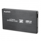 "MAIWO K2501CU3S USB3.0 2.5"" SATA HDD Enclosure - Black"
