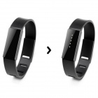 Betwine Bluetooth V4.0 Smart Long-time Sitting Reminder Bracelet / Necklace w/ Pedometer - Black