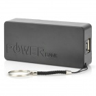 "IKKI Micro USB 5V ""6800mAh"" Li-ion Battery Power Bank w/ Cable for Samsung / HTC + More - Black"