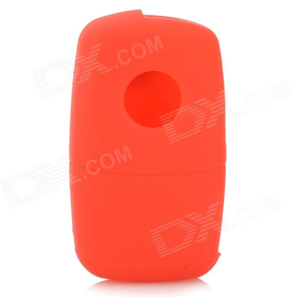 GEL140106 Silicone Car Key Case for VW POLO, Passat, Tiguan, Touareg, Touran, Golf 6 + More - Red автомобильный dvd плеер wincen android 4 1 dvd vw golf 5 6 passat jetta tiguan touran skoda octavia seat altea