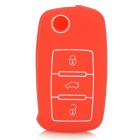 GEL0127 Silikon Car Key sak for Volkswagen NEW PASSAT, Sagitar, Bora, Tiguan, TOURAN, Lavida, POLO