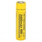 NITECORE NL189 3.7V 3400mAh Rechargeable Li-ion 18650 Battery - Black + Yellow