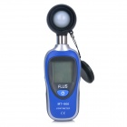 FLUS MT-906 Mini Digital Light LUX Meter - Black + Blue + Multicolored (1 x 9V)