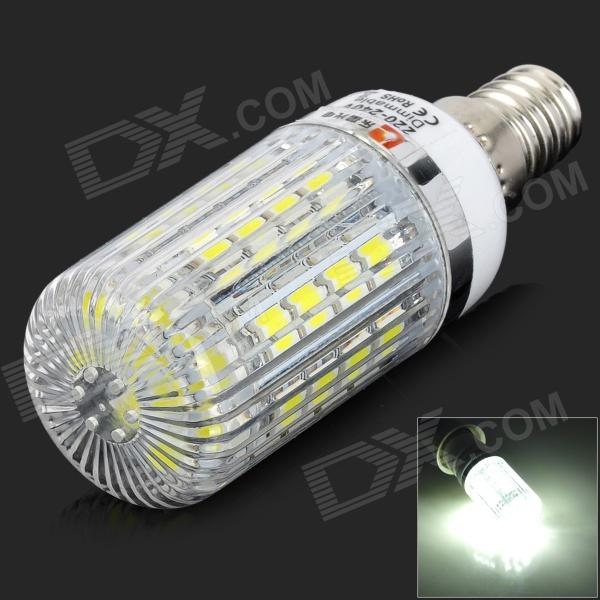 lexing LX-YMD-093 E14 4.5W 250lm 7000K 36-5050 SMD LED White Light Lamp (AC 220~240V) lexing lx qp 20 e14 6w 470lm 3500k 15 5730 smd led warm white light dimmable lamp ac 220 240v