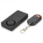 FYD8819 Wireless Vibration Security Alarm - Black