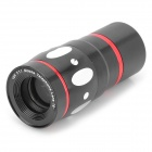 4-in-1 10X Telescope + Fisheye + Macro + Wide Angle Lens Set for Samsung Galaxy S4 i9500 - Black