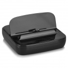 Charging Dock Station w/ Charging Data Cable for Samsung Galaxy S5 - Black