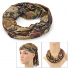 MAKALU 787 Outdoor Polyester Sunproof Hat Head Scarf for Men - Woodland