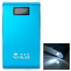 HLXS MP-119 Portable 5V 13000mAh Dual USB Power Bank - Sapphire Blue