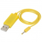 WLtoys V272-08 ABS USB Cable for V272.H111 R/C Helicopter - Yellow (66.5cm)