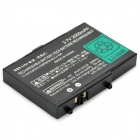 Portable GENCA-004 ''2000mAh'' 3.7V Rechargeable Battery for NDS - Black