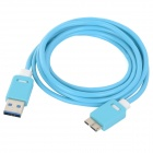 USB 3.0 Male to Micro USB 9-Pin Male Charging + Data Transmission Cable for Samsung Note 3 (150cm)