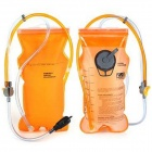 LANLAND AY-008 Convenient Outdoor Dual Cell TPU Water Bag - Orange + Transparent (2L)