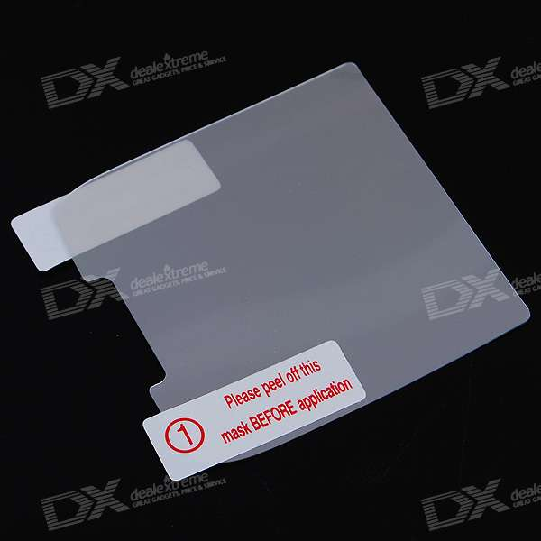 Glossy Mirror Screen Protector with Cleaning Cloth for Nokia E71