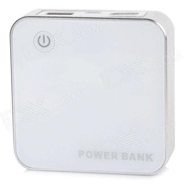LIT JN-325 Portable ''8400mAh'' Li-ion battery Power Bank for PHONE / IPAD / Samsung + More (5V) 5200mah mini rechargeable mobile power bank for cellphone tablet pc more blue white