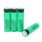 PANASONIC 18650 3.7V 3000mAh Li-ion Rechargerable Battery - Green