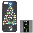 KWEN CC-1 Stylish Glow-in-the-dark Heart Pattern PC Back Case for IPHONE 5 / 5S - Multicolored