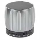 S13 Portable 3W Bluetooth V2.0 / V2.1 Speaker w/ Mic / Mini USB / TF - Silver + Multicolored