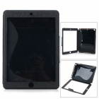 Protective PU Leather Case Cover Stand w/ Touch Visual Window for IPAD AIR - Black