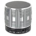 S32 Portable 3W Bluetooth V2.0 Speaker w/ Mic / Mini USB / TF - Silver + Multicolored