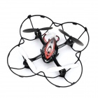 DFD F180 Rechargeable 2.4GHz Wireless 4-CH R/C Aircraft w/ Gyro - Black + Red