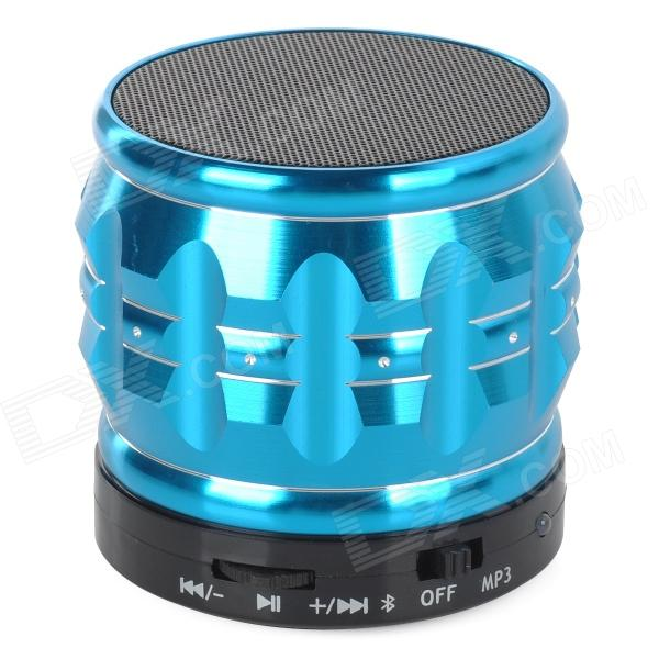 S30 Portable 3W Bluetooth V2.1 Speaker w/ Mic / Mini USB / TF - Blue