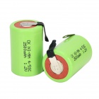 CK Ni-MH 4/5SC 1600mAh 1.2V Rechargeable Battery - Grass Green