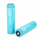 OLIGHT P34 3.7V 2800mAh 18650 Li-ion Rechargeable Battery - Light Blue (2 PCS)