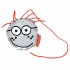 Salzmann 41001 Cute Reflective Polyester Key Toy - Grey