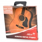 Kapok DGS12-53 Phosphor Bronze Strings for Acoustic Guitar - Orange + Silver