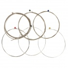 Kapok DGS11-50 Nickle-plated Strings for Electric Guitar - Grey + Silver + Multicolored