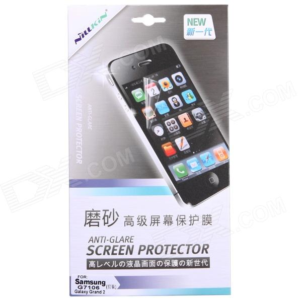 NILLKIN Protective Matte Screen Protector Guard Film for Samsung Galaxy Grand 2 G7106 protective matte frosted screen protector film guard for nokia lumia 900 transparent
