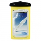 Convenient Waterproof PVC Arm Bag for Samsung Note 3 / T100 / S5 / 9220 + More - Yellow (L)