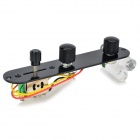 TL TELE Electric Guitar Control Board - Black